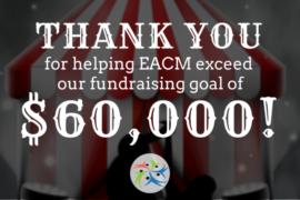 2018 Fundraiser Goal Met!