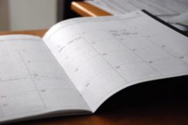 April 2019 Program Calendar