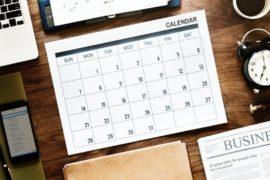 March 2020 Program Calendar