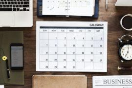 October 2018 Program Calendar