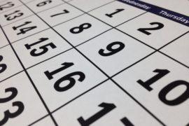 November 2018 Program Calendar